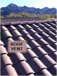 Tile Roof Vent